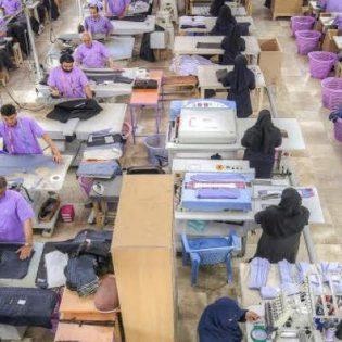 کارخانه تولیدی پوشاک اطمینان نیز امکانی شد.